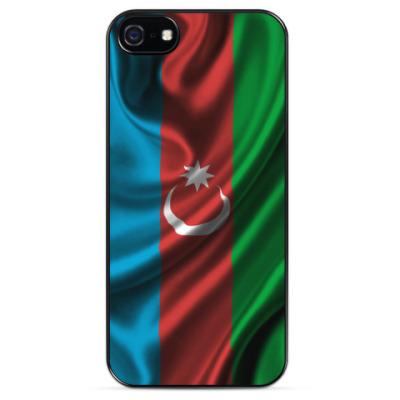 Чехол для iPhone Флаг Азербайджан