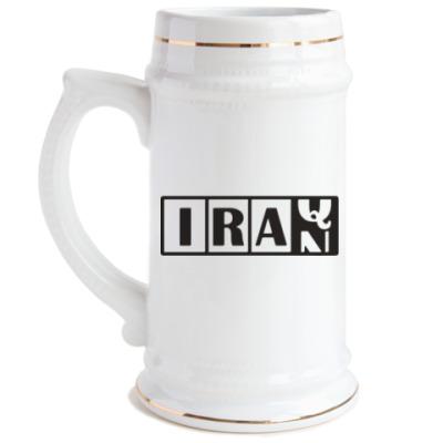 Пивная кружка Иран-Ирак