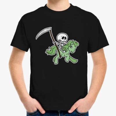 Детская футболка My little death