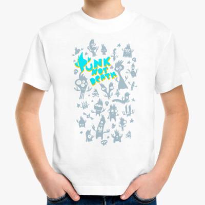 Детская футболка панки живы
