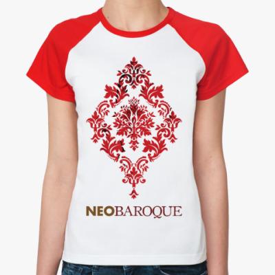 Женская футболка реглан Необарокко