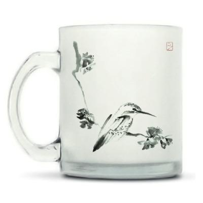 Кружка матовая Зимородок (Kingfisher)