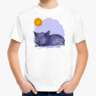 Детская футболка 'котенок'