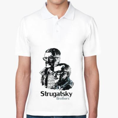 Рубашка поло Братья Стругацкие
