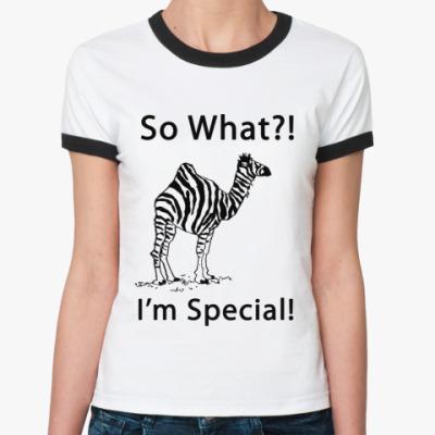 Женская футболка Ringer-T Special