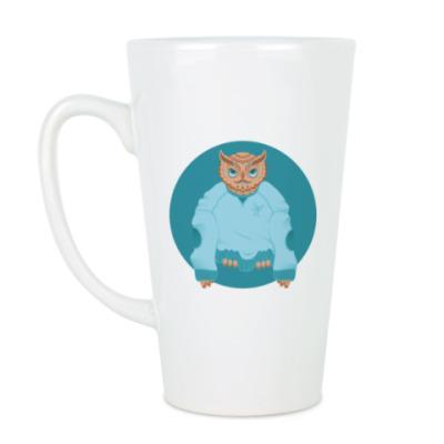 Чашка Латте  Animal Fashion: O is for Owl