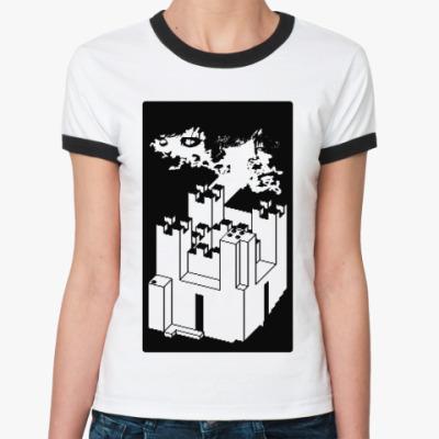 Женская футболка Ringer-T   CC GAME