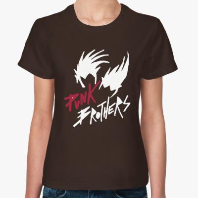 Женская футболка Братья панки