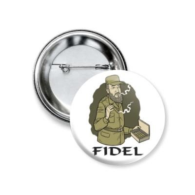 Значок 37мм Fidel