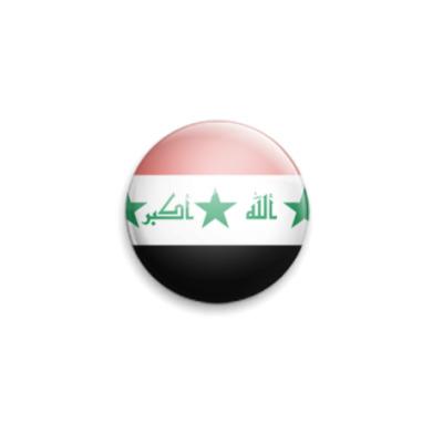 Значок 25мм Iraq