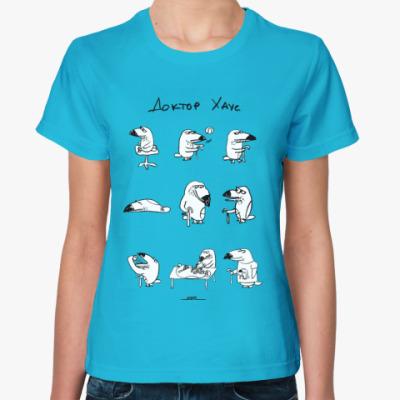 Женская футболка Доктор Хаус