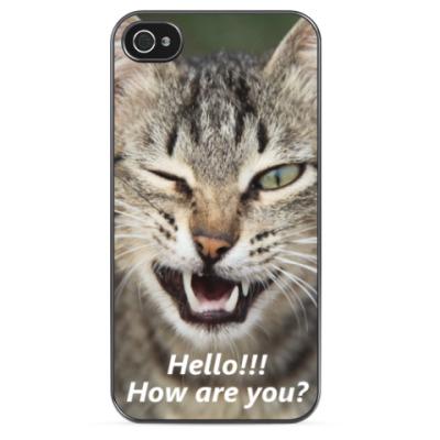 Чехол для iPhone 'Hello!'