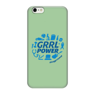 Чехол для iPhone 6/6s Grrl Power iPhone