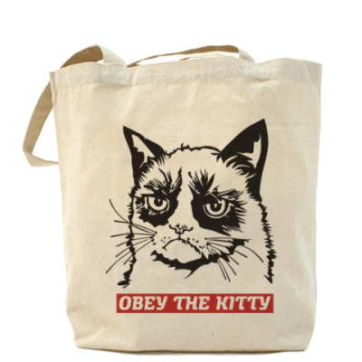 Сумка Obey the kitty. Obey the doggy