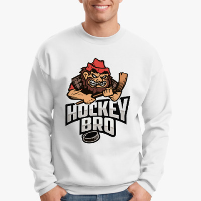 Свитшот Hockey BRO