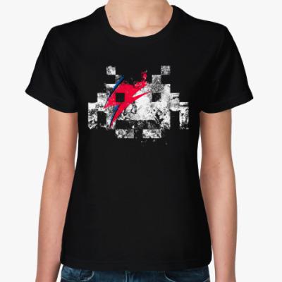 Женская футболка Космический Захватчик