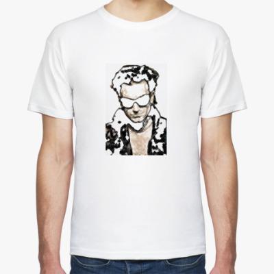 Фото Мужская футболка Stedman, белая