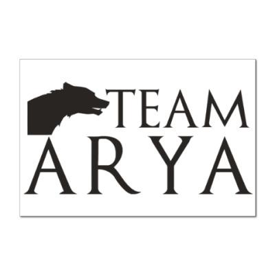 Наклейка (стикер) Команда Арии