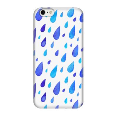 Чехол для iPhone 6/6s Акварельный дождь