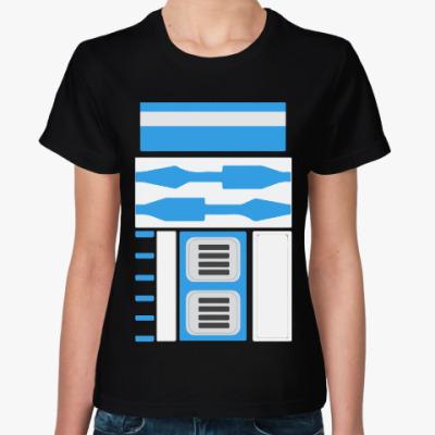 Женская футболка R2-D2 (Звездные Войны)
