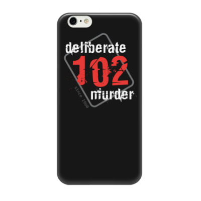 Чехол для iPhone 6 Чехол для iPhone 6 (3D) 102DeliberateMurder