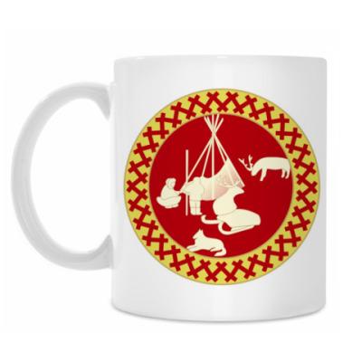 Кружка Хантымансийская иллюстрация