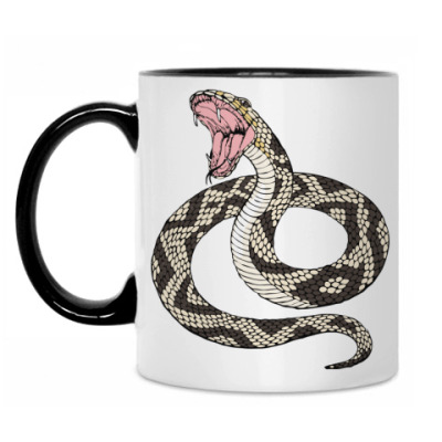 Кружка  Новый год 2013 змея