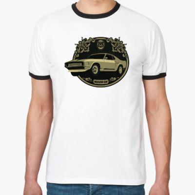 Футболка Ringer-T Muscle car