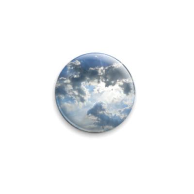Значок 25мм  Сквозь небо