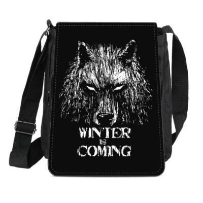Сумка-планшет Зима близко