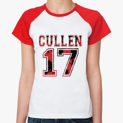 Женская футболка реглан Cullen 17