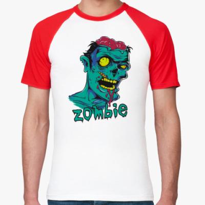 Футболка реглан Zombie