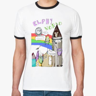 Футболка Ringer-T футболка Elphy World