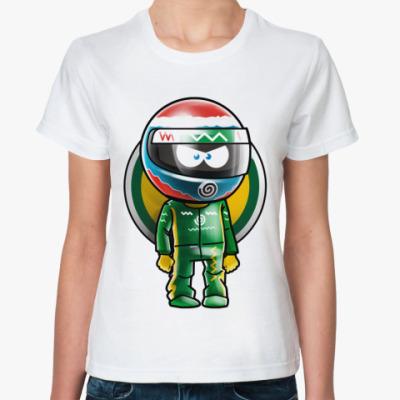 Классическая футболка Vitaliy .