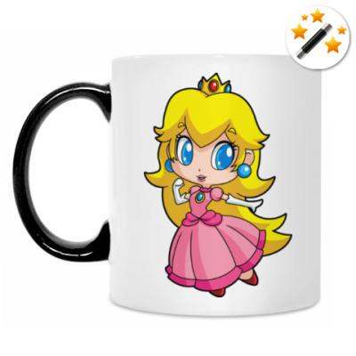 Кружка-хамелеон Super Mario Princess