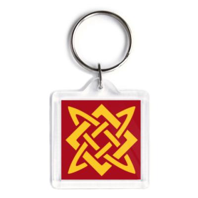 Брелок Звезда Руси (Сварогов квадрат)
