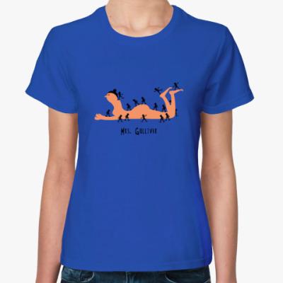 Женская футболка Миссис Гулливер