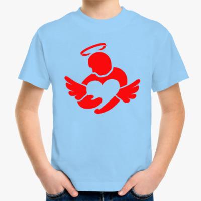 Детская футболка Сердце в руках