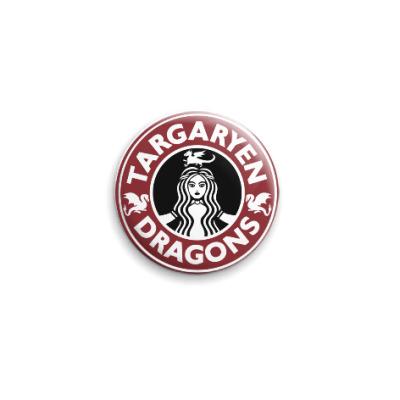 Значок 25мм Драконы Таргариен