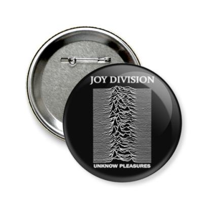 Значок 58мм Joy Division