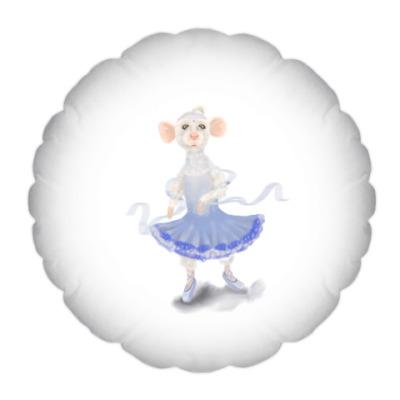 Подушка Милая мышка