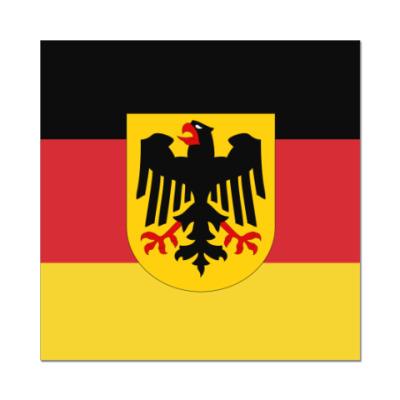 Наклейка (стикер) Deutschland