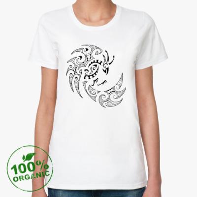 Женская футболка из органик-хлопка Фэнхуан