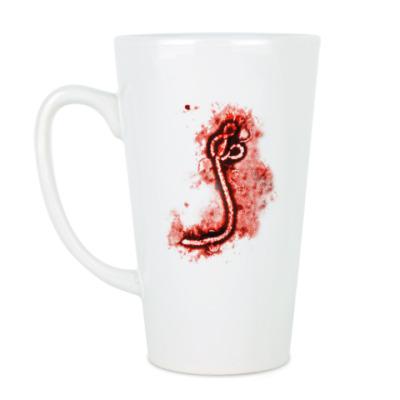 Чашка Латте Ebola