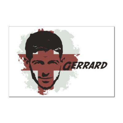 Наклейка (стикер) Джеррард