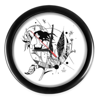Настенные часы Лето