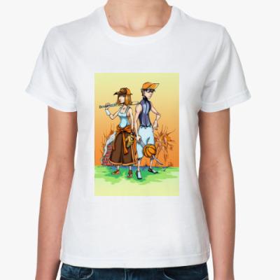 Классическая футболка Хулиганы