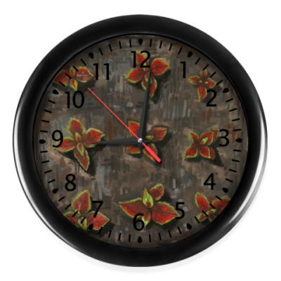 Настенные часы Колеусы
