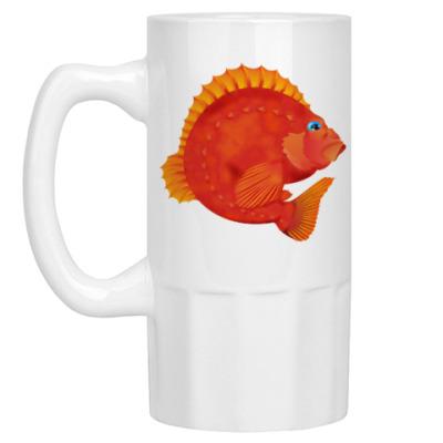 Пивная кружка Морской окунь