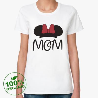 Женская футболка из органик-хлопка Mom